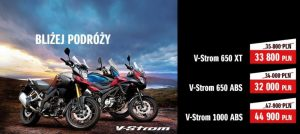 New price for Suzuki V-Strom