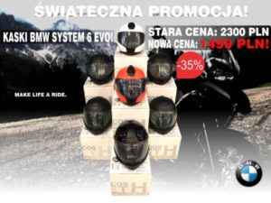 Christmas promotion for BMW helmets