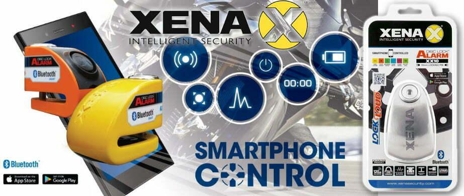 XENA blokady z alarmem oraz modułem Bluetooth